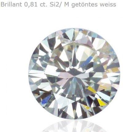 Schlieren / Kratzer an Diamant Krone?