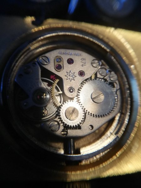 Junghans Armbanduhr mit Handaufzug