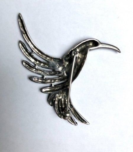 Brosche Kolibri