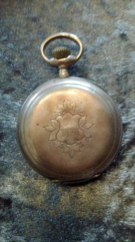 Remontoir Spiral Brequet Taschenuhr