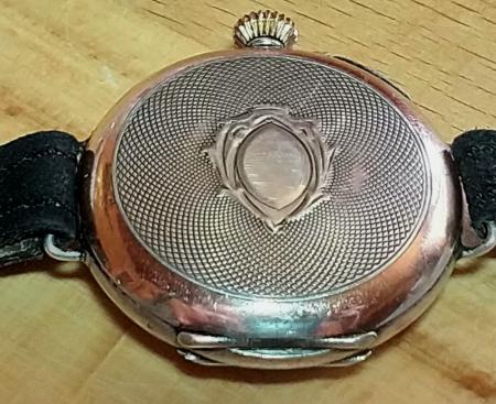 Silber Uhr Punze