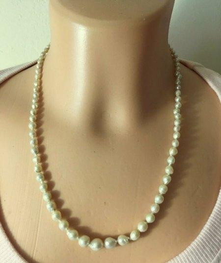 Alte Perlenkette - gar nichts wert oder doch ein wenig ?