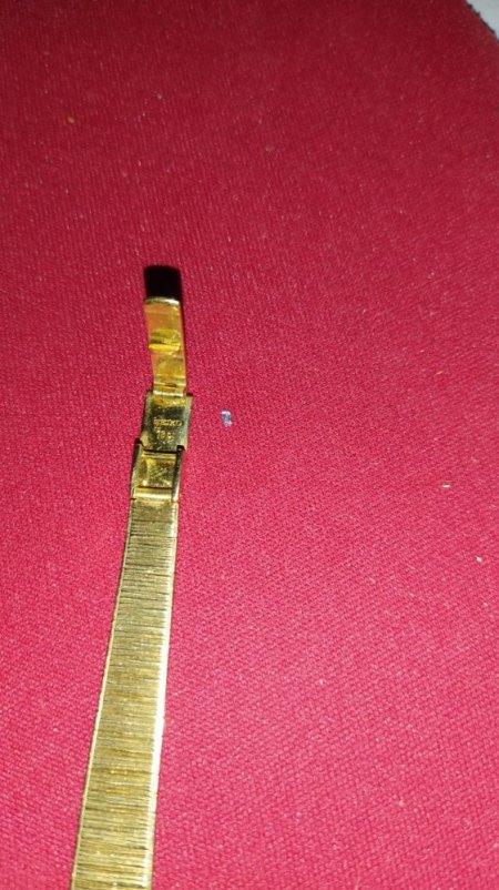 Seike Damen Uhr 18 ct Gold