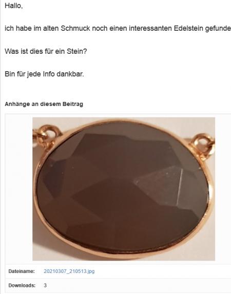 Ich sehe schwarz........