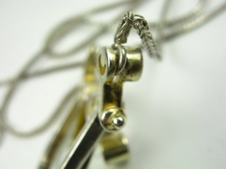 Silber Collier