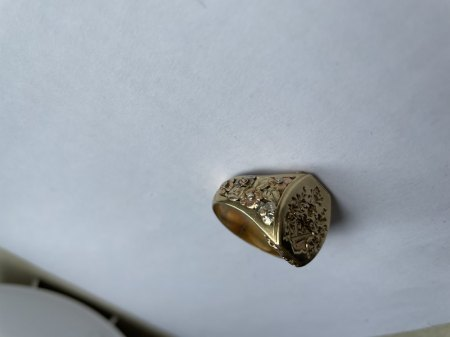 Was ist das für ein Siegel-Ring? Bewertung möglich?