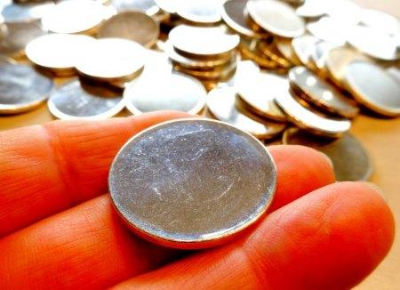 """98 """"Silberlinge"""" - 925/Silber-Ronden - zu verkaufen"""