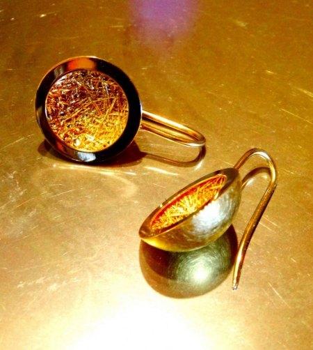 Große Fasermatte - 925 Silber - zu verkaufen