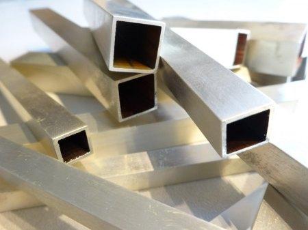 925 Silber Vierkantrohre aus Goldschmiede zu verkaufen