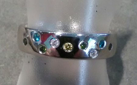 Verlobungsring - Gelber Diamant