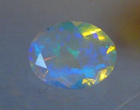 Welo Opal - oval facettiert - 1,2 Carat aus Goldschmiede zu verkaufen (5)