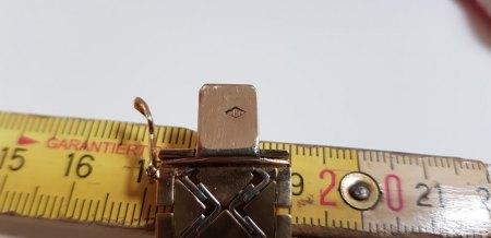Collier und Armband 585er Gold und evtl. Platin