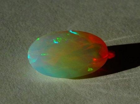 Welo Opal - oval facettiert - 1,7 Carat aus Goldschmiede zu verkaufen