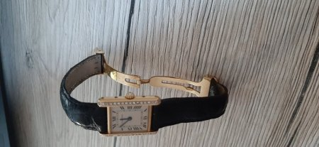 Cartier Uhr mit Diamanten