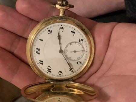 Vermutlich alte Taschenuhr