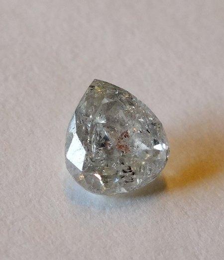 Diamant-Tropfen - 0,31 Carat - aus Goldschmiede zu verkaufen
