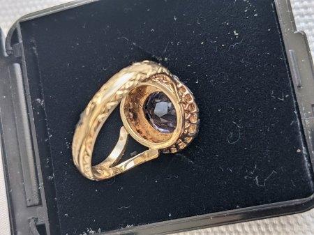 Antik Ring mit Altschliffdiamanten
