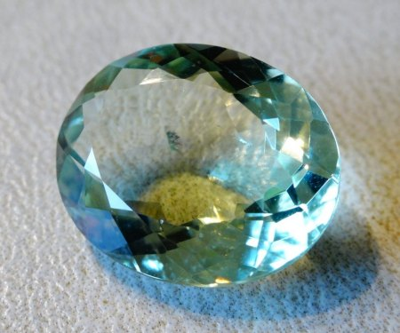Prasiolith - 11,21 Carat - aus Goldschmiede zu verkaufen
