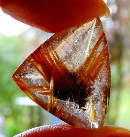 Rutil-Quarz - aus Goldschmiede zu verkaufen