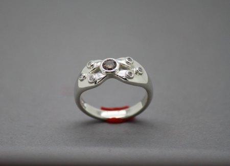 Vorstellung: Brillant-Ring in Silber 925
