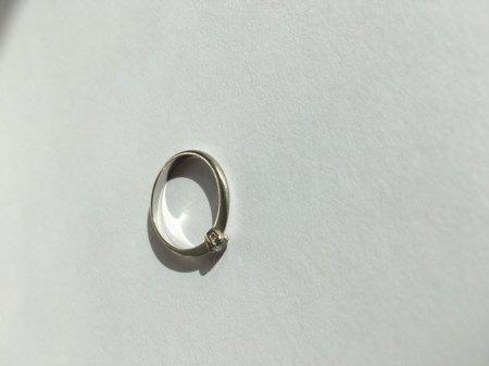 Ring Silber Brillant - Ringpass vorhanden