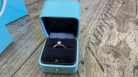 Ring von Tiffany ohne Zertifikat erhalten