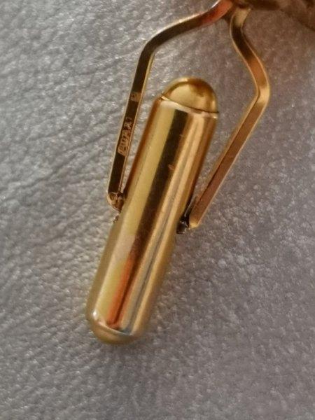 Manschettenknöpfe aus Gold? Punze nicht lesbar