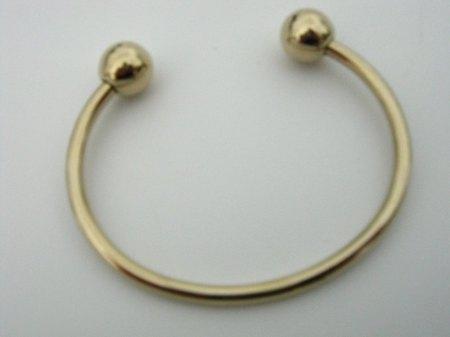 Anfertigung einer Armspange in Gold