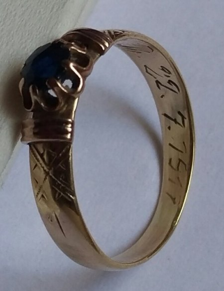 alter Ring von 1917