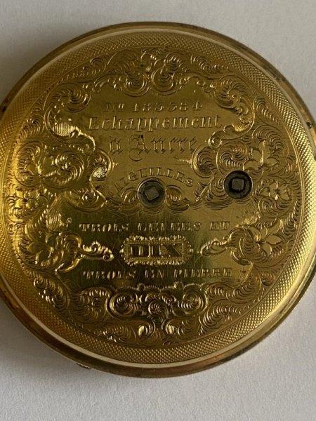 Goldene Taschenuhr - bitte um Bewertung oder Hersteller zeigen