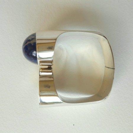 Vintage-Armreif Silber