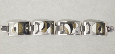 Stegemaille Armband 925er Silber - Identifikation und Schätzung