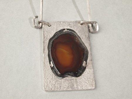 Silber Collier Identifikation und Schätzung
