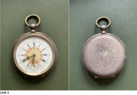 Schätzung von 3 Taschenuhren