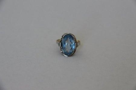 Ring mit blauem Stein - welcher Stein ist das und lohnt sich eine neue Fassung?