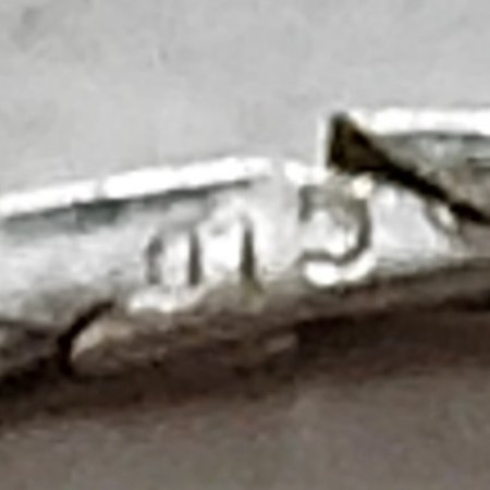 Frage wegen Punze/Stempel - 585 Weißgoldkette
