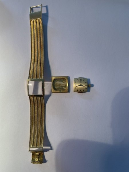 Omega Damenuhr Gold ca. 1960 - Wert?