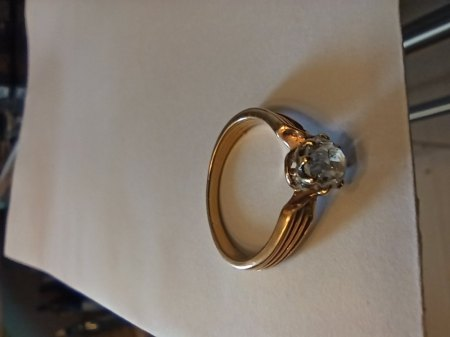 Ring mit Diamant Erbstück