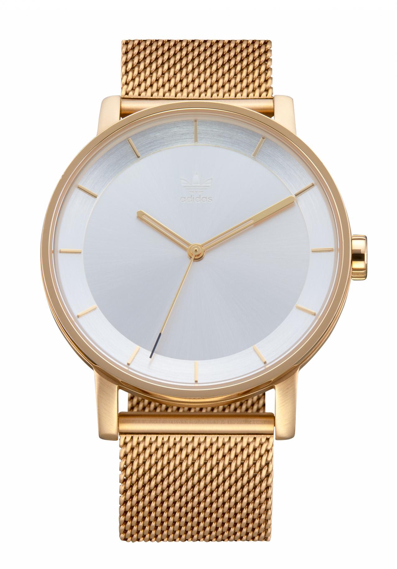 Adidas District Gold / Silver Sunray Armbanduhr