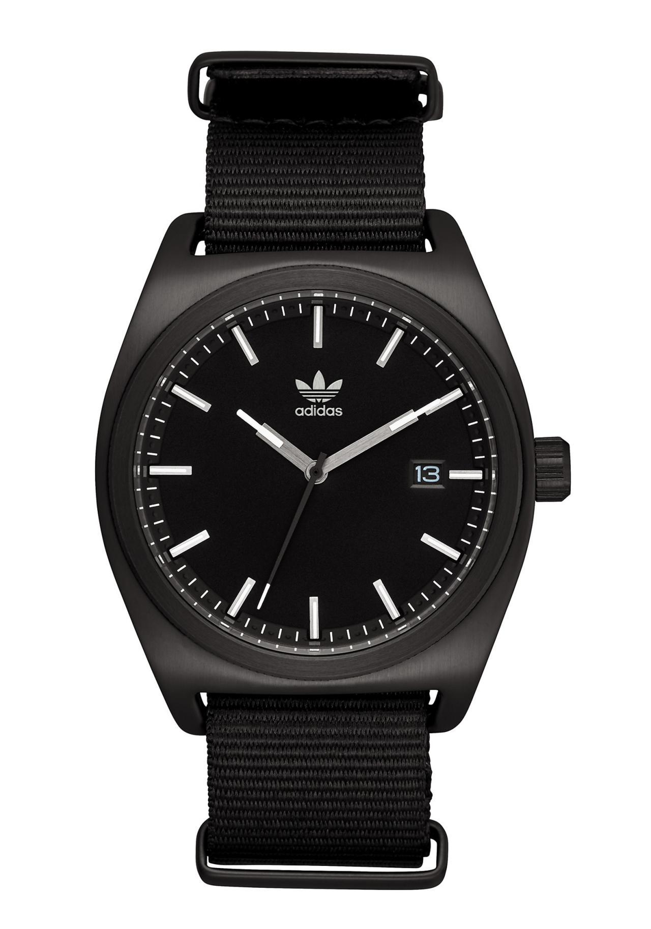 Adidas Process All Black / Gunmetal Armbanduhr