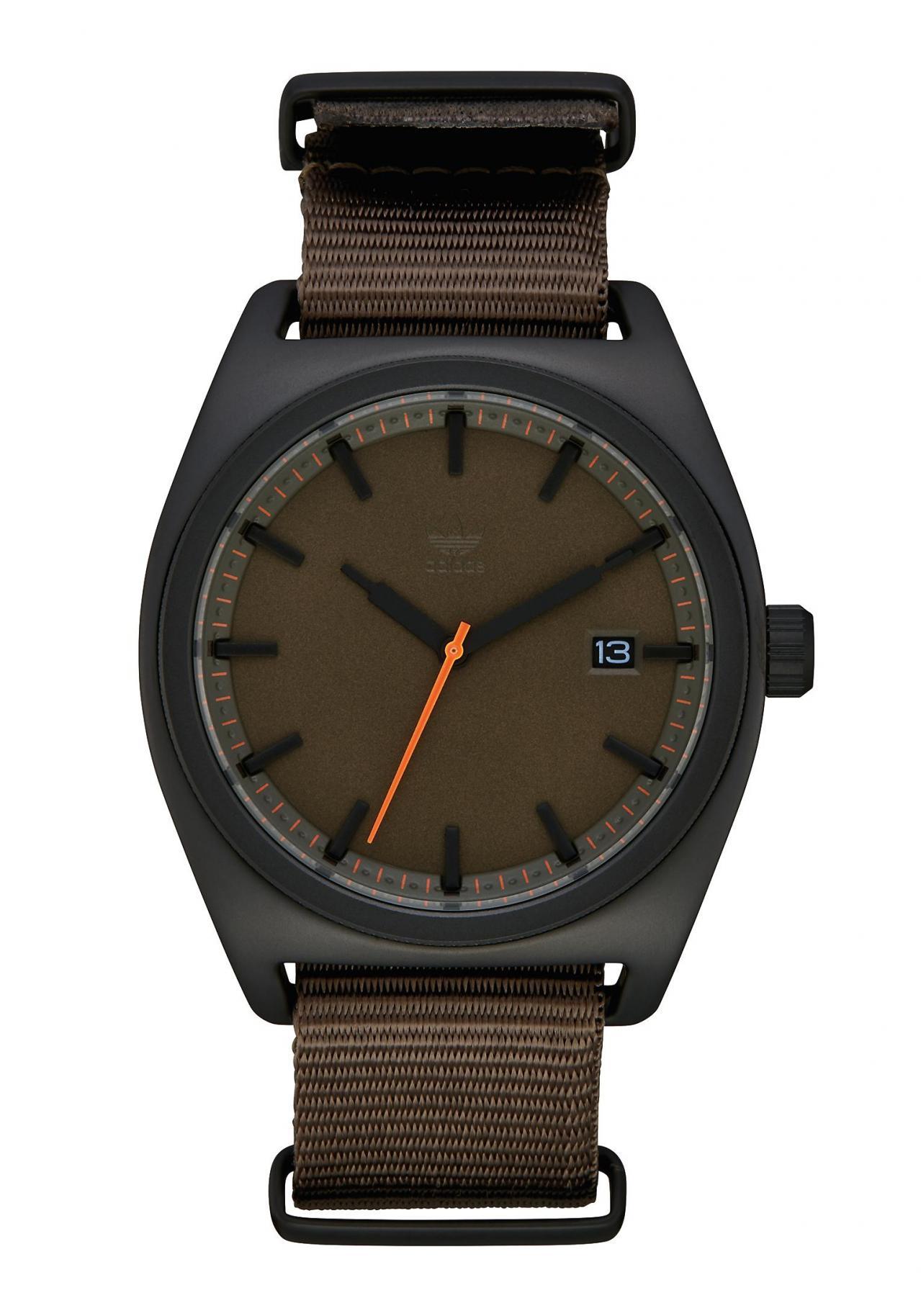 Adidas Process Black / Branch / Orange Armbanduhr