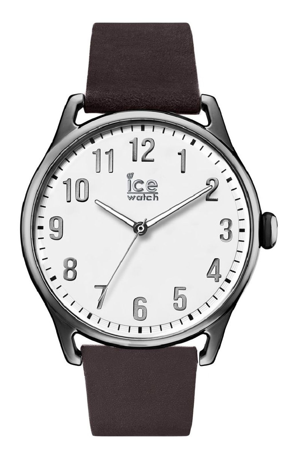 Ice-Watch ICE time Dark brown White Large