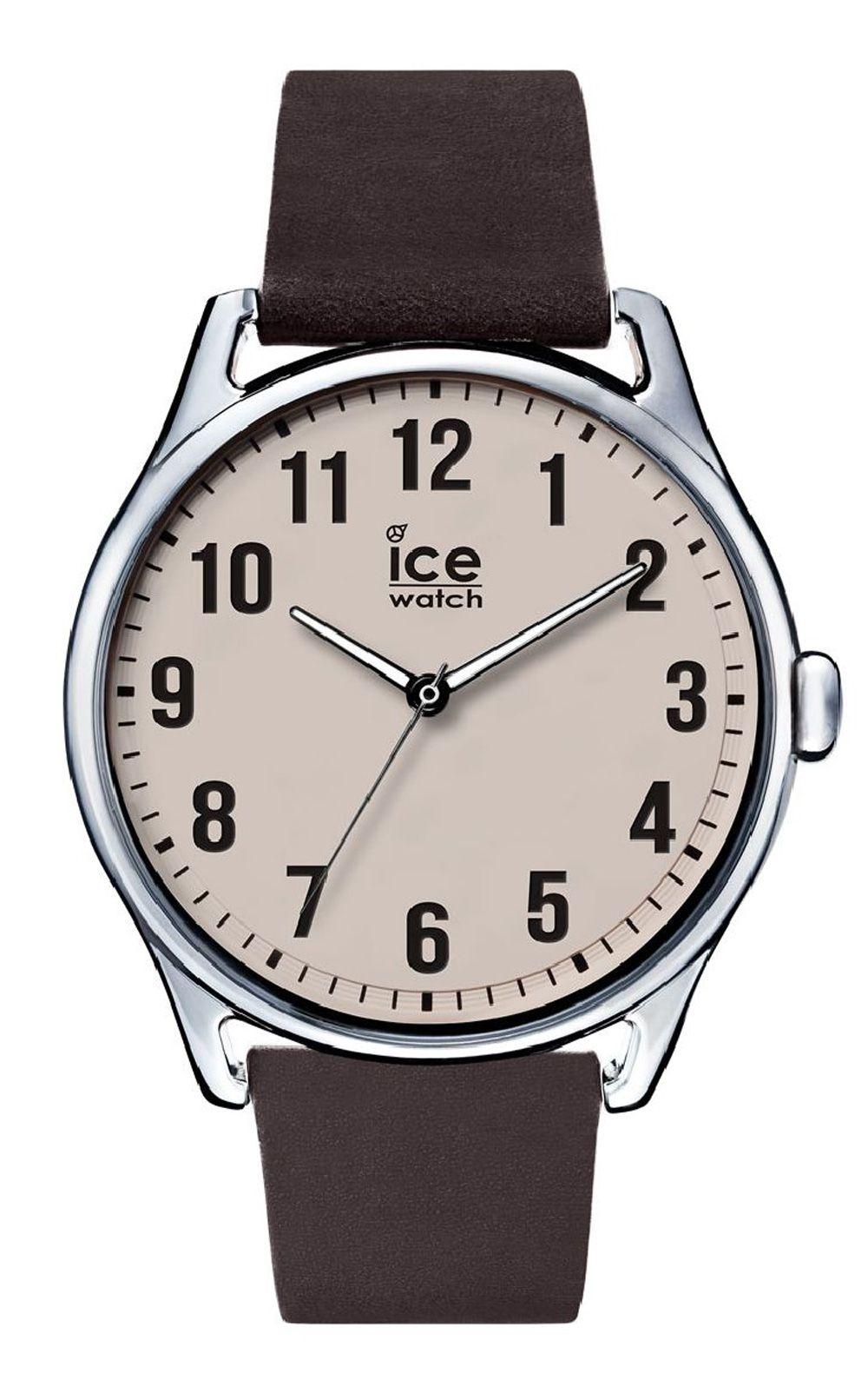 Ice-Watch ICE time Dark brown Beige Large