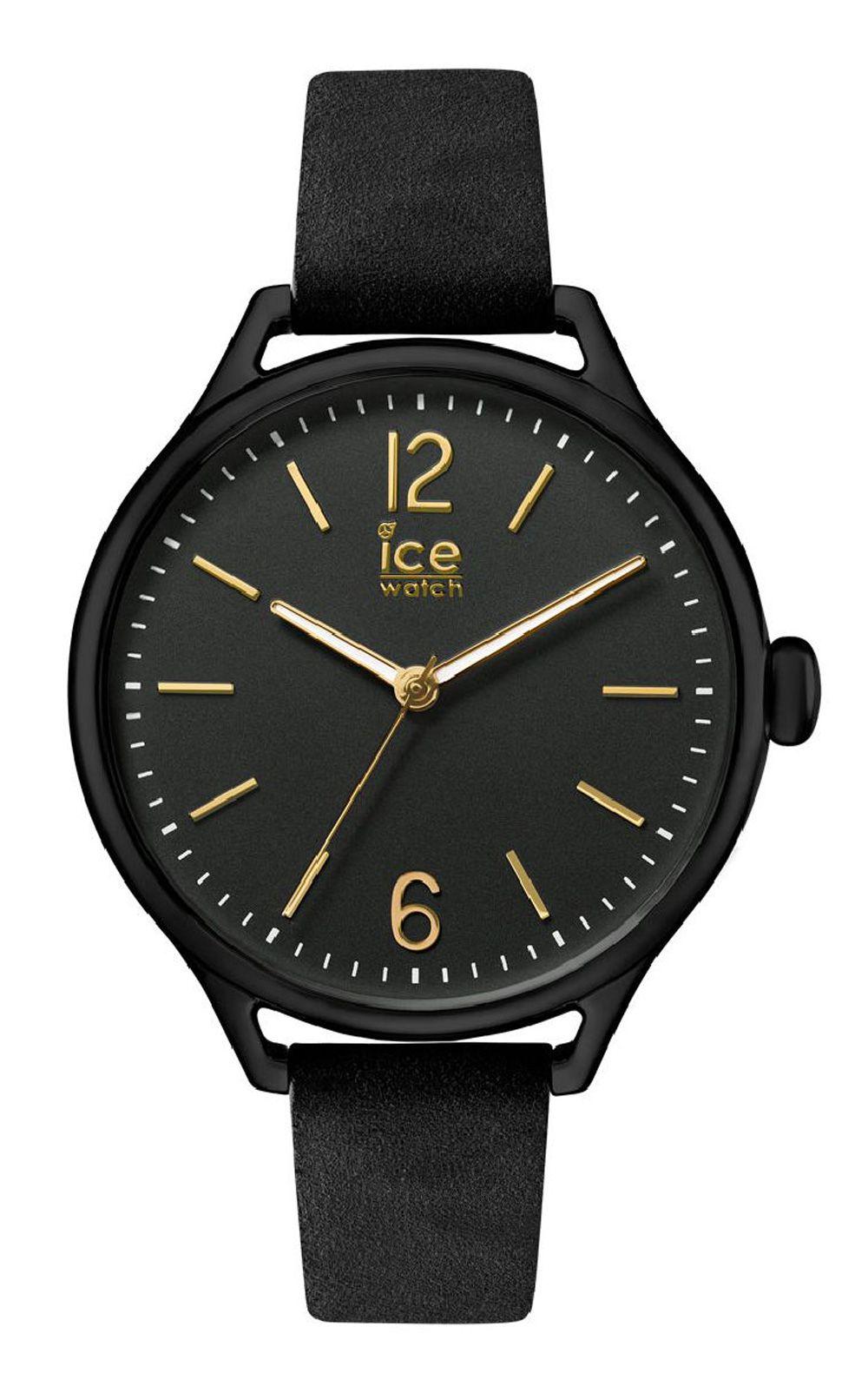 Ice-Watch ICE time Black Gold Medium