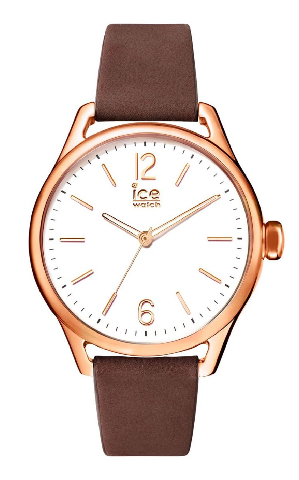 Ice-Watch ICE time Brown Rose-Gold Medium