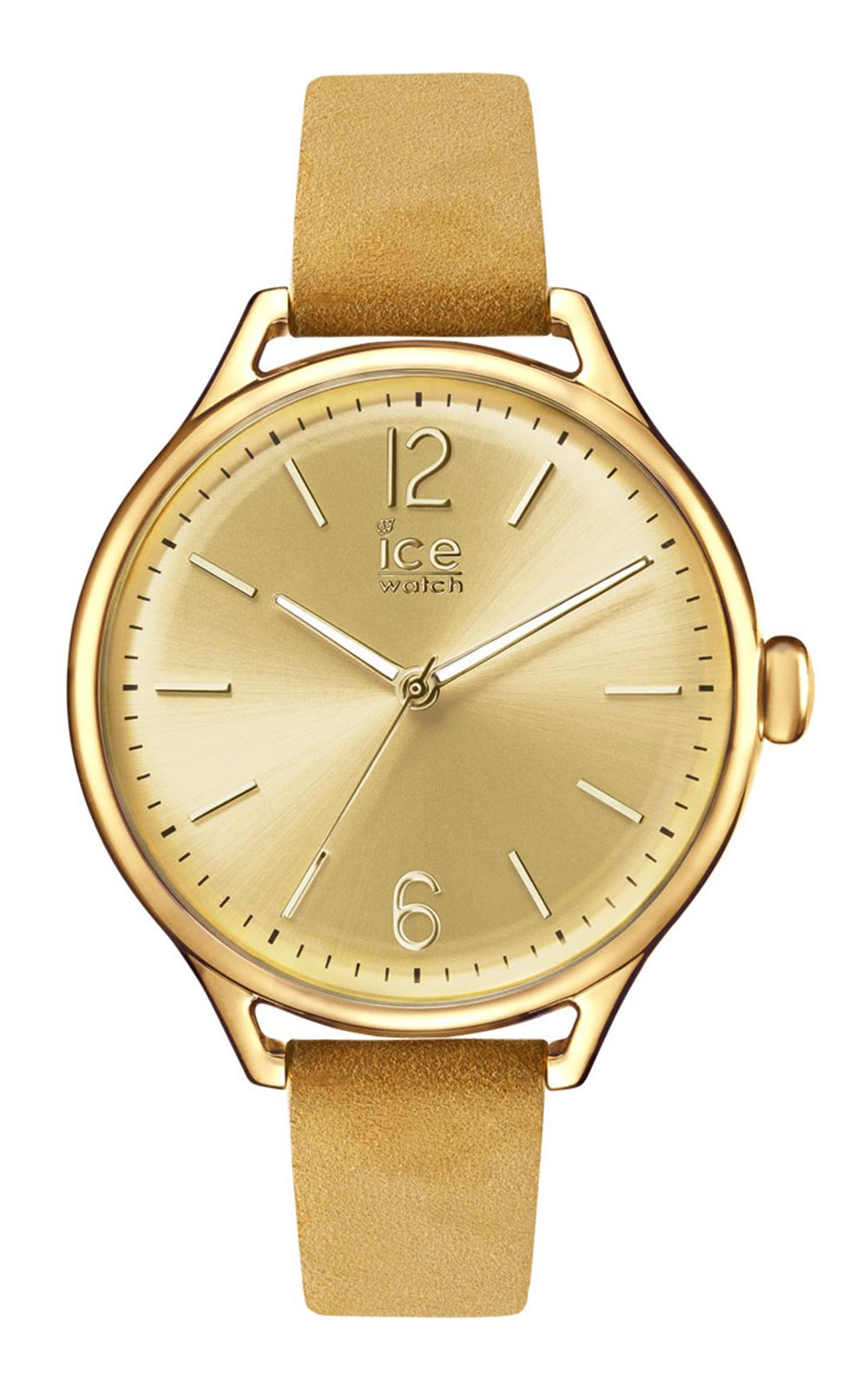 Ice-Watch ICE time Beige Gold Medium