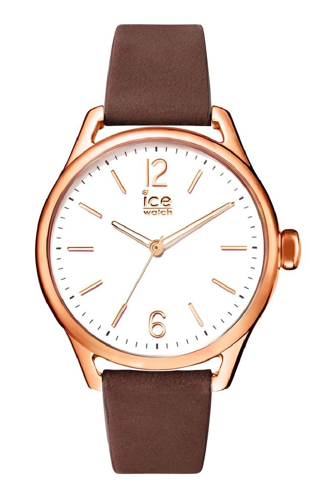 Ice-Watch ICE time Brown Rosegold Small