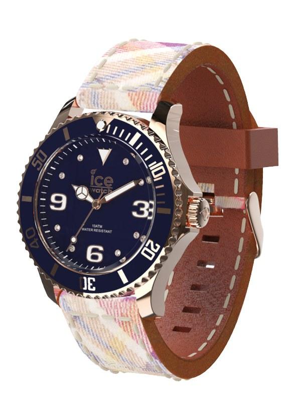 Ice-Watch Ice-Checks Medium Beige Uhr