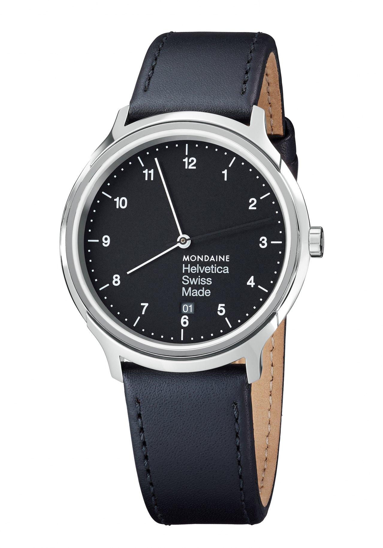 Mondaine Helvetica No1 Regular 40 Armbanduhr