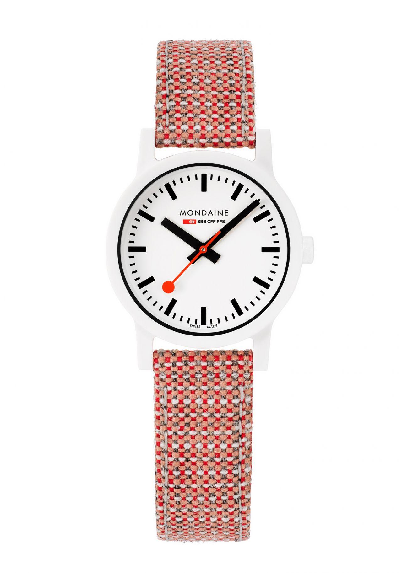 Mondaine Essence White Uhr 32mm
